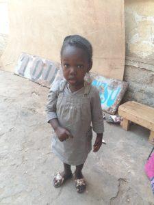 Moussou, une enfant à parrainer
