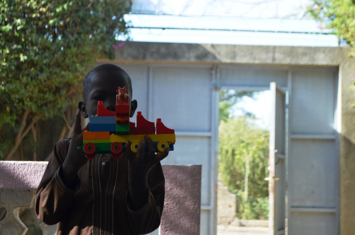 Accueil des talibés à la Cité des Enfants