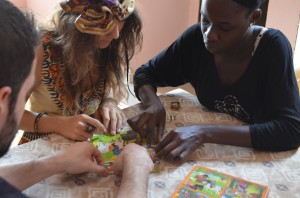 Logement des bénévoles dans une famille sénégalaise