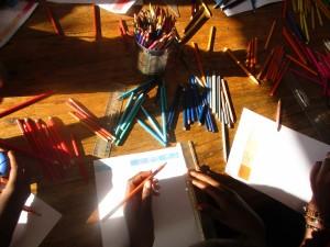 Atelier Dessin & Arts-plastiques avec Alice